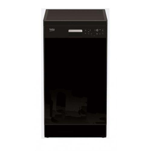 BEKO Dishwasher 45 cm 6 program 10 Person Half load Black DFS26024B