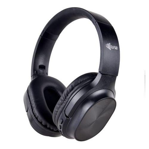 X-LOUD Bluetooth Headphone Rechargeable 250mAh Li-polymer battery, Wireless,FM Support Black LD-H201