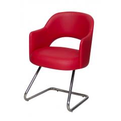 Artistico Domino fixed chair Red ADFC-R