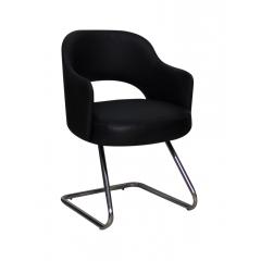 Artistico Domino fixed chair Black ADFC-B