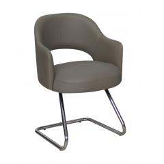 Artistico Domino fixed chair Light Grey ADFC-LG