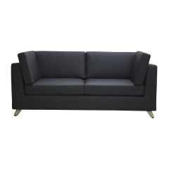 Artistico Sofa Chair 90 cm and Couch 150 cm Artificial Leather SOFA-1 Bundle