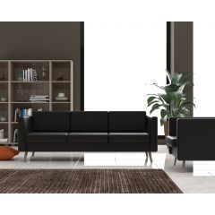 Artistico Sofa Chair 90 cm and Two Couch 150,210 cm Artificial Leather SOFA-B3