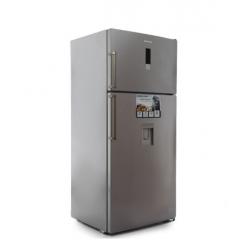 White Point Refrigerator NoFrost 24 Feet 582 Liter Digital with Water Dispenser Silver WPR 640 DWDX