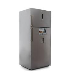 White Point Refrigerator NoFrost 582 Liter Digital with Water Dispenser Silver WPR 643 DWDX