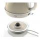Ariete Kettle 1.7 Liter 2000 watt Cordless Beige A-2869