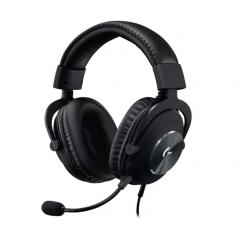 لوجيتك سماعة أذن للألعاب سلكية جلد مزودة بتقنية بلو فويس لون أسود G-PRO X