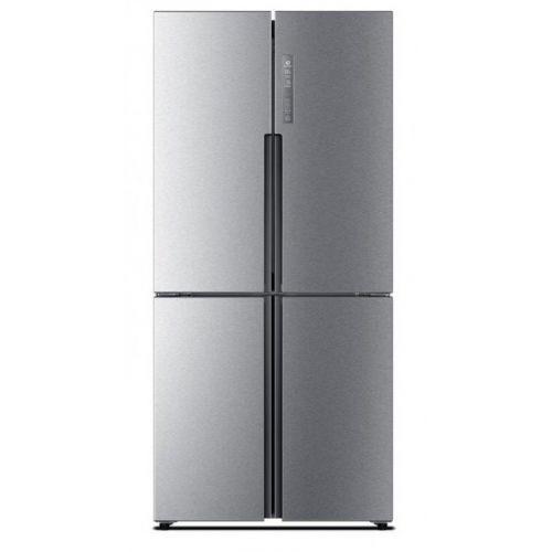 Haier Refrigerator Side by Side 512 Liter Inverter Silver Inox HRF-530 TDSM