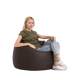 Cozy Taj Buff Bean Bag 75*60*75cm Brown CTB-B