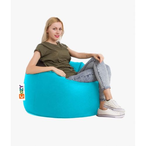 Cozy Taj Buff Bean Bag 75*60*75cm Light Blue CTB-LB
