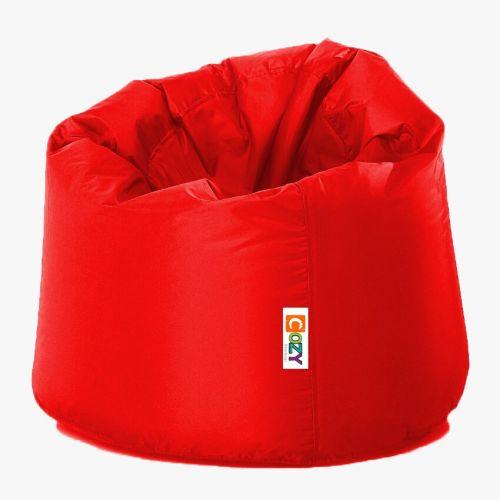 Cozy Taj Buff Bean Bag 75*60*75cm Waterproof Red CTBWP-R