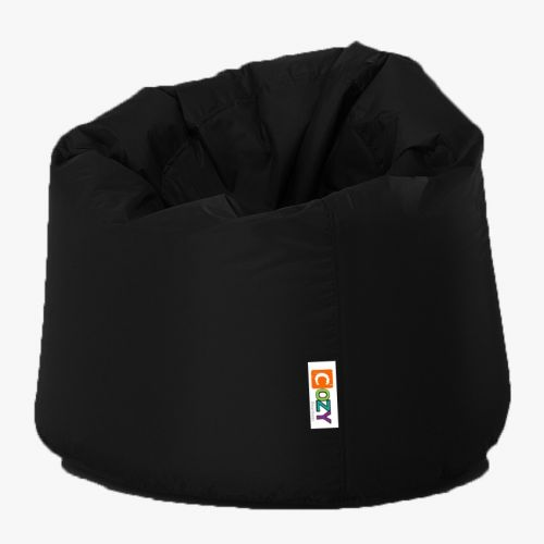 Cozy Taj Buff Bean Bag 75*60*75cm Waterproof Black CTBWP-BK