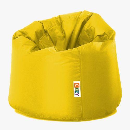 Cozy Taj Buff Bean Bag 75*60*75cm Waterproof Mustard CTBWP-M