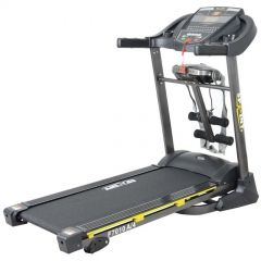Sprint Electric Treadmill For 130 Kg With AC Motor with Vibration Unit,Twister Board and Setup Bench F7010A/4