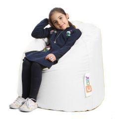 Cozy Kids Bean Bag 60*50*60cm Waterproof White CKB-W