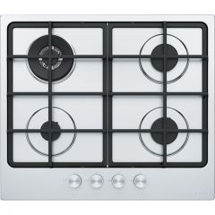 Franke Built-in Gas Hob 4 Burners 60 cm Cast Iron Stainless FHSM 604 3G DC XS