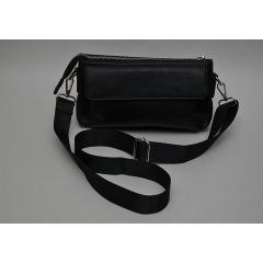 ART Waist Bag PU Leather Black AW-1420 BK