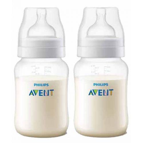 AVENT Anti-Colic Baby Bottle 330 ml Feeding Bottle White SCF816/61
