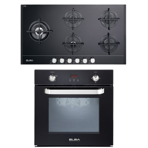 Elba Built-In Gas Oven with Grill Digital 54 L 512-7GTC