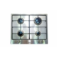 THOMSON Built-In Hob 60 cm 4 Gas Burners Safety Stainless Enamelled Electronic Ignition TH6G4/S