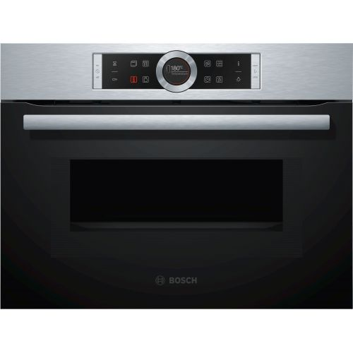 Bosch Built-In Electric Oven 60 cm 45 Liter with microwave CMG633BS1