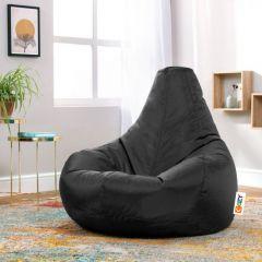 Cozy Buff Bean Bag 90*100*90cm Waterproof Black CB-B