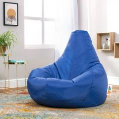Cozy Buff Bean Bag 90*100*90cm Waterproof Light Blue CB-LB