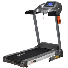 ELECTRIC TREADMILL Blue back-lite LCD Max User Weight 110 kg + 12 different workout programs :YG 6060