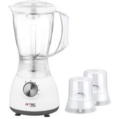 GTEC Blender 400 Watt 1.5L with Grinder,Grater White G019-PBA