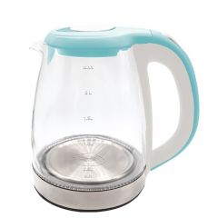 جي تك غلاية مياه 1500 وات 1.8 لتر زجاج G001-GKE