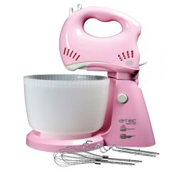 GTEC Hand mixer with Bowl 300 Watt 3 L Pink G024-SMA