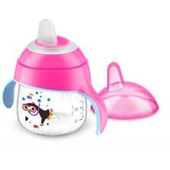 AVENT Premium Toddler Cups 200 mm Pink PTC200