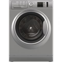 ARISTON Washing Machine 7 Kg 1200 rpm Digital Inverter Silver NM10 723 SS EX