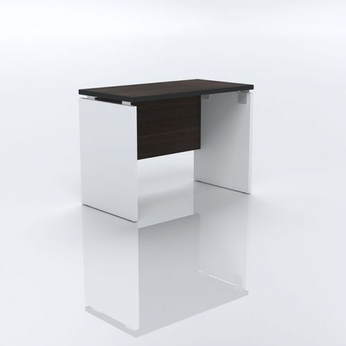 Artistico Office Desk 100*75*55 cm Without Drawers White*Black AD100-WBK