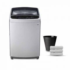 LG Washing Machine 16KG Top Load Sliver Color T1666NEFTF