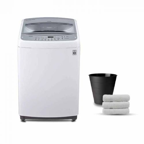 LG 13.2 KG Top Loading Washing Machine Inverter Motor White: T1388NEHTA