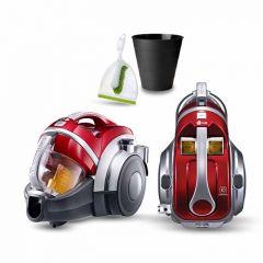 LG Vacuum Cleaner 2000 Watt Bagless Aluminium Telescopic Pipe Kompressor VK7320NHAR