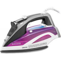 Black & Decker Steam Iron Digital 2800 Watt Multiple colors X2250