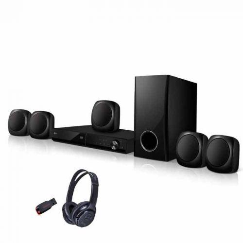 LG DVD Home Theater System 330 W Bluetooth,Karaoke LHD427
