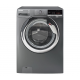 Hoover Washing Machine 8Kg Full Automatic 1300 RPM With Steam Silver DXOA38AC3R-ELA