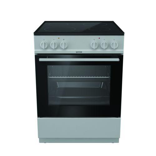 Gorenje Electric Cooker 60*60 cm Free Stand 4 Glass Burners EC6111SG