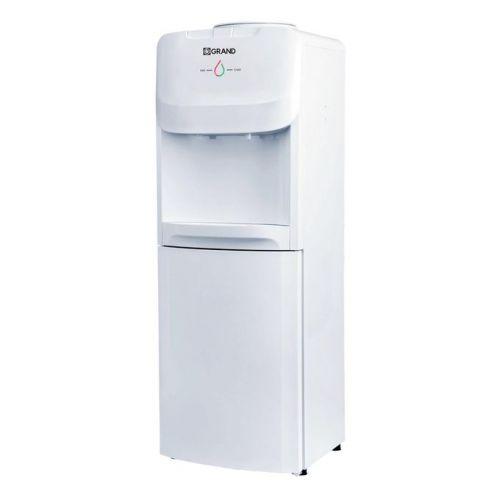 جراند مبرد مياه 2 حنفية بارد/ساخن مزود بكابينة تبريد لون أبيض WDQ-1189-C