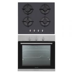 Dominox Built-In Gas Oven 60 cm and Gas Hob 60 cm DO 52 G XS