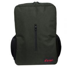 E-train Nylon Backpack Bag fits Up to 15.6 Olive BG90G