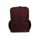 E-train Nylon Backpack Bag fits Up to 15.6 Red BG90R