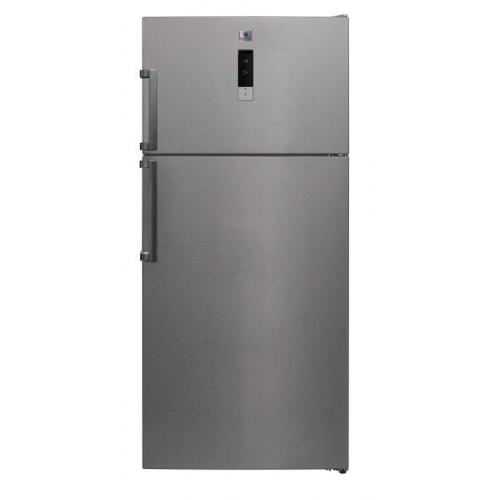 KELVINATOR Top Mount Refrigerator No Frost 575 L Stainless KTM643TSE