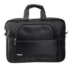 L'avvento Laptop Shoulder Bag Nylon fits Up to 15.6 Black BG786