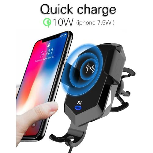L'avvento Automatic Car Holder with wireless Qi charger With Intelligent MX377