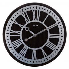 RHYTHM Wooden Wall Clock 44.8 cm Brown CMH745NR06