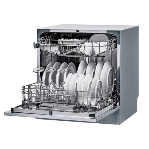 Kelvinator Table Top Dishwasher 8 Persons Silver KDW8-3802F
